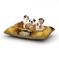 "Ancello ""Lion King"" Yellow Brown Dog Bed"