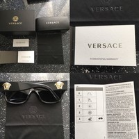 Versace Sunglasses comes with in original box and everything inside
