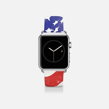 USA FLAG Apple Watch Band (38mm)  by Allison Reich | Casetify