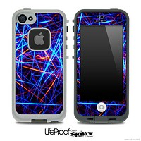 Neon Flashy Lights Skin for the iPhone 5 or 4/4s LifeProof Case