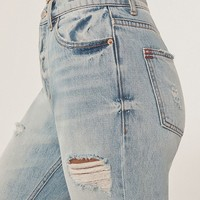 BDG High-Rise Slim Straight Jean - Light Denim | Urban Outfitters