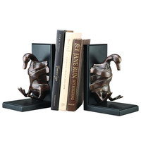SPI Duck Taped Brass and Iron Bookends