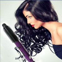 2-in-1 Hair Curler Ceramic Hair Straightener Professional Hair Straightening Iron Hot Curler Curling Irons New Hair Styling Tool