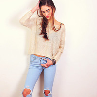 Casual and Glisten Sweater