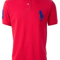 Polo Ralph Lauren oversized logo slim fit polo shirt