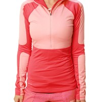 Nike Pro Women's Dri-Fit Half Zip Hyperwarm Series Training Jacket