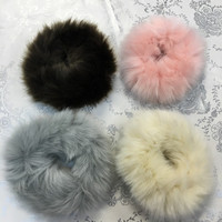 Faux fur hair band, hair ties, scrunchie, ponytail, soft, cute & fashionable