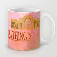 beach time Mug by Marianna Tankelevich