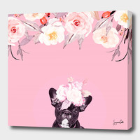 «Elodie» Canvas Print by Suzanne Carter - Numbered Edition from $59   Curioos