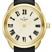 kate spade new york 'crosstown' leather strap watch, 34mm   Nordstrom