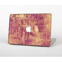 """The Pink Paint Splattered Brick Wall Skin Set for the Apple MacBook Pro 13""""   (A1278)"""