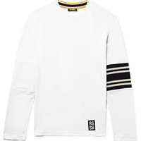 Raf Simons - Striped Cotton-Jersey T-Shirt