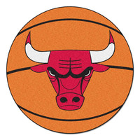 Chicago Bulls NBA Basketball Mat (29 diameter)