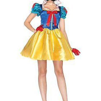 Womens Disney Classic Snow White Costume