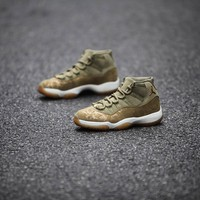 "Air Jordan 11 Retro ""Olive Lux"""