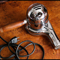 Vintage Working Chrome Eskimo Hair Dryer with Free Domestic Shipping