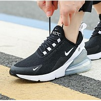 NIKE AIR MAX 270 Fashion Women Men Casual Air Cushion Running Sport Shoes Sneakers 5#