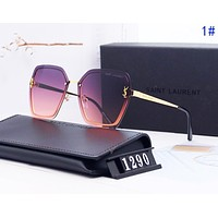 Vogew YSL Yves Saint Laurent Fashionable Women Men Sun Shades Eyeglasses Glasses Sunglasses