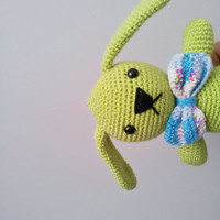 rabbit toy,plush rabbit toy,nursery decoration ,cute toy,cute bunny,ooak, amigurumi,crochet bunny