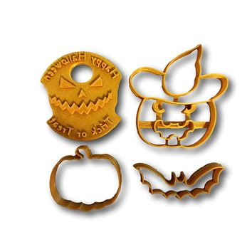 Halloween Scary Cookie Cutters (Bundle)