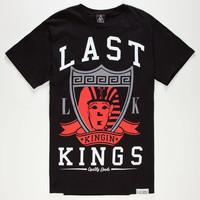 Last Kings Raider Mens T-Shirt Black  In Sizes