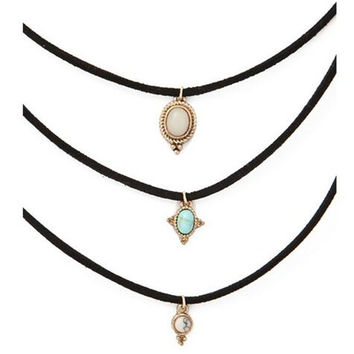 All-match Turquoise Chokers