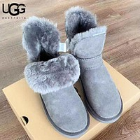UGG New fashion fur women keep warm shoes boots