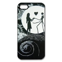 Disney the Nightmare Before Christmas iPhone 5 Case Hard Shell Cover Case for iPhone 5