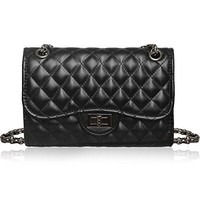 Solarfun Classic Crossbody Shoulder Bag for Women Quilted Purse With Metal Chain Strap  YSL bag