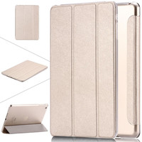 for Apple iPad Air 5 /6 Air 2 Leather Case For iPad Mini 1 /2 Retina 3 7.9 Luxury Clear Stand Smart Cover for iPad mini3 Air 2