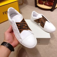 FENDI   Fashion Men Casual Running Sport Shoes Sneakers flat Sandals