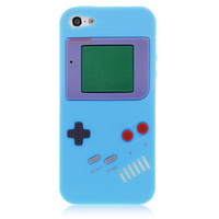 Blue GameBoy Silicone Case for iPhone 5 & 5s