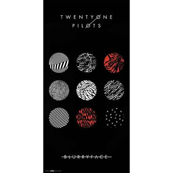 Twenty One Pilots Domestic Poster