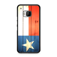 Texas Flag Wooden HTC One | M9 case