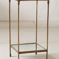 Georgina Speckled Mirror Side Table