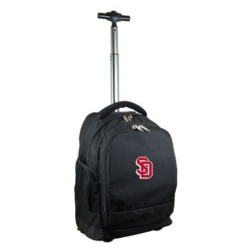 South Dakota Coyotes Wheeled Premium Backpack