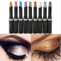 Women Gril Smoky Glitter Eye Shadow Lip Liner Eyeliner Pen Pencil Beauty Cosmetic Makeup Eyeshadow Tool Death Kiss [9325733508]