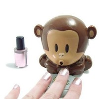 Cute Monkey Shaped Manicure Nail Polish Blower Dryer