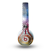 The Neon Glowing Grill Mesh Skin for the Beats by Dre Mixr Headphones