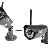 Wireless 720P IP Camera - 1/4 Inch CMOS Sensor, 70 Degree Angle, Mobile Phone Support , Motion Detection, SD Card , IP66