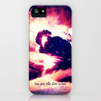 You are the fire in me - iPhone 5/5S Case by Simone Morana Cyla