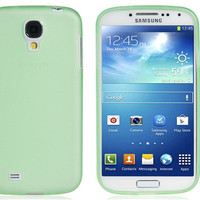 Glow-in-the-Dark Soft Plastic Case for Samsung Galaxy S4/ I9500 (Green)