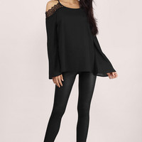 Gypsy Lace Cut Out Top $32