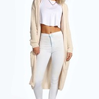 Anita Longline Hooded Cardigan