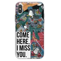 Come Here I Miss You iPhone XR case