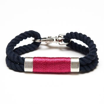 Tremont - Navy/Pink/Silver