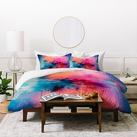 Caleb Troy Temperature Duvet Cover