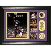 Kobe Bryant 2008 NBA MVP 24KT Gold Coin Highlight Photomint