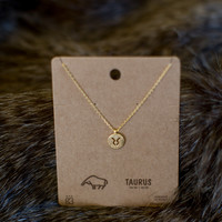 Must Have Taurus Necklace