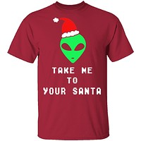 Take Me To Your Santa T-Shirt